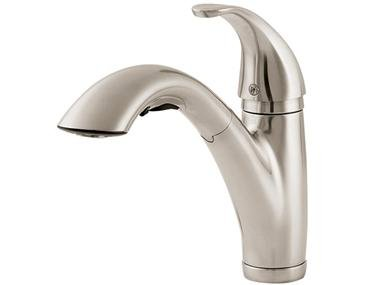 Price Pfister 534-70SS Parisa Single-Handle Kitchen Faucet with Pull-Down Spout Sprayer