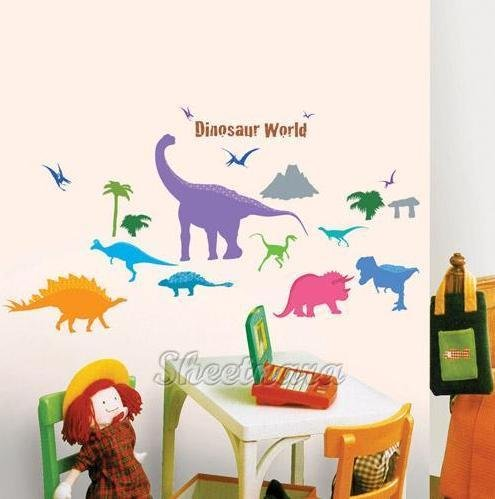 Dinosaur age Wall Stickers PS-58159
