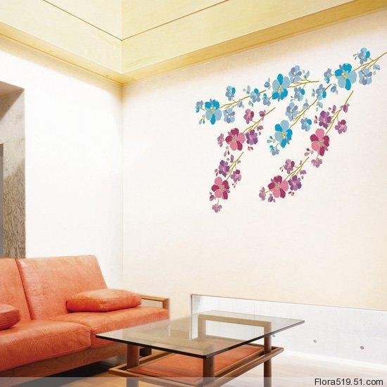 Flower Wall Stickers PL-58138
