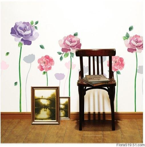 Rose Wall Stickers KR-0017
