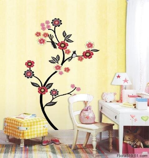 Flower Tree Wall Stickers ECO-001