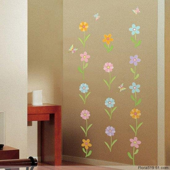Floret Wall Stickers WDS-004