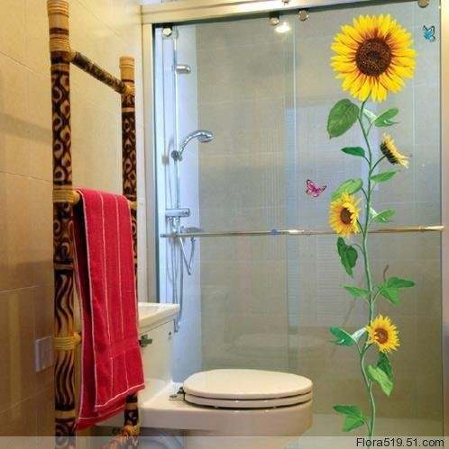 Sunflower Wall Stickers ECO-011