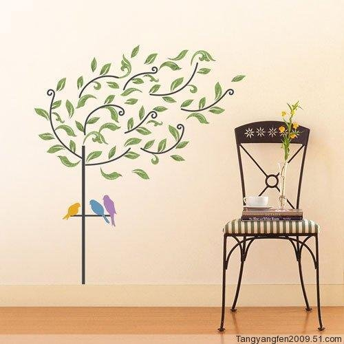 Bird Tree Wall Stickers PS-58077