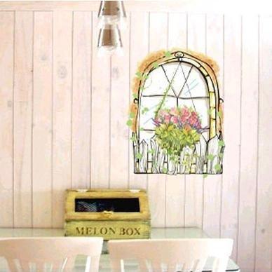 Vine Window Wall Stickers EC-014