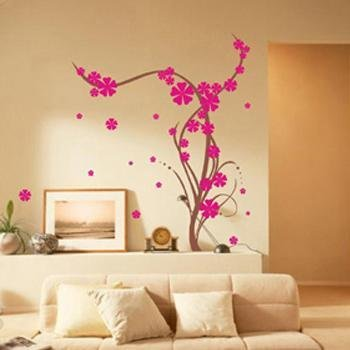 Flower Wall Stickers WS-007