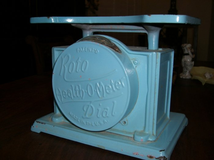 1929 Health-O-Meter Roto Dial Scale