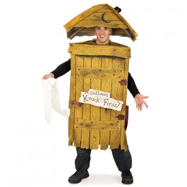 Outhouse Toilet Funny Mens Halloween Costume 2010084
