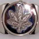 Marijuana Leaf Lighter Belt Buckle