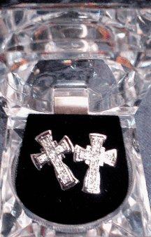 Silver Colored Cross