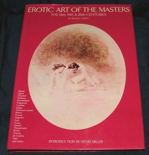 Erotic art of the masters by Bradley Smith 1st