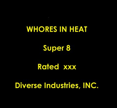 Whores In Heat S8 by Diverse Industries