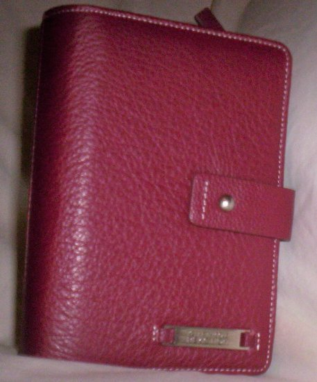 Kenneth Cole Reaction Leather Day Planner/Agneda Wallet in Red
