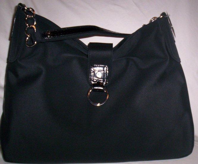 Liz Claiborne Bellvue Hobo Shoulder Bag in Black