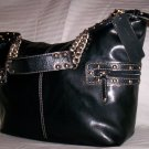 Mercer & Madison Tyler Hobo Shoulder Bag in Black