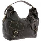 Rampage Stance Large Hobo Shoulder Bag in Black
