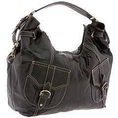 Rampage Stance Large Hobo Shoulder Bag in Black