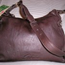 Stone Mountain Clearlake Leather Hobo Shoulder Bag in Brown