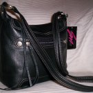 Stone Mountain Oak Ridge Leather Rectangle Hobo Shoulder Bag in Brown