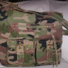 The Sak Boardwalk Cammo Print Shoulder Bag