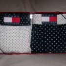 Set of 2 Tommy Hilfiger XL Woven Boxers in Navy Blue and White