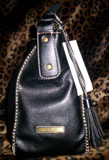 Tommy Hilfiger Mystic Large Hobo Handbag in Black