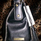 Tommy Hilfiger Mystic Large Hobo Handbag in Black