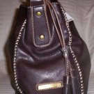 Tommy Hilfiger Mystic Large Hobo Handbag in Brown
