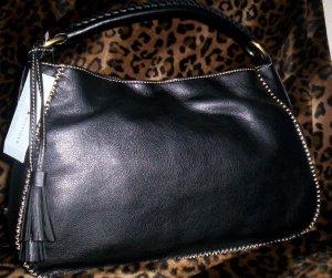 Tommy Hilfiger Mystic Small Hobo Handbag in Black