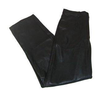 Wrangler Classic Blues Black Faux Leather Pants Womens Size 4 New with Tags