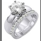 Eternal Solitaire Wedding Set