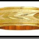 Beautiful Guaranteed Wedding Band Gold Or Rhodium