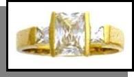 """""""Royal Lady"""" Russian CZ Ring Guaranteed"""