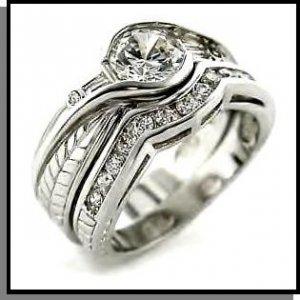 Christina's Stunning Replica Wedding Ring Set