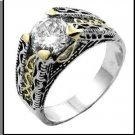 Fabulous Anna Replica Vintage Style CZ Ring