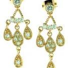 """""""Starlet"""" Russian CZ Chandelier Earrings"""