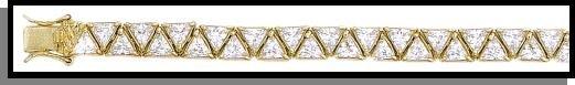 Glittering Russian Cubic Zircona Bracelet