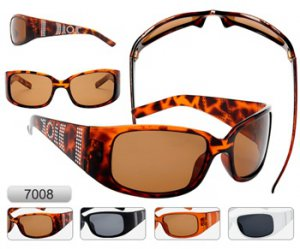 Ladies Tortoiseshell Polarized Sunglasses