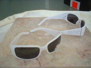 Ladies Polar White Designer Inspired Polarized Sunglasses