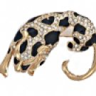 Leopard Broach Pin