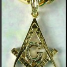 Freemason Masonic Symbol Pendant Guaranteed
