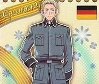 Axis Powers Hetalia Trading Card (Brothers) - Germany Character Card