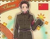 Axis Powers Hetalia Trading Card (Brothers) - China