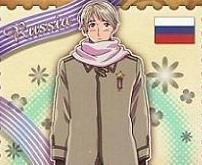 Axis Powers Hetalia Trading Card (Brothers) - Russia