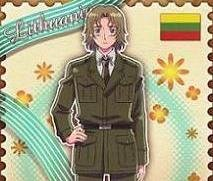 Axis Powers Hetalia Trading Card (Brothers) - Lithuania