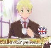 Axis Powers Hetalia Trading Card (Brothers) - United Kingdom (England)