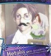 Axis Powers Hetalia Trading Card (Brothers) - Chibitalia / Austria