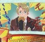 Axis Powers Hetalia Trading Card (Brothers) - America USA