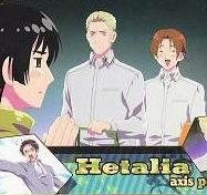 Axis Powers Hetalia Trading Card (Brothers) - Germany, Japan, & Italy