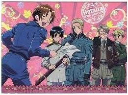 Axis Powers Hetalia Trading Card (Brothers) - SP